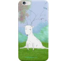 A Forlorn and Melancholy Deer iPhone Case/Skin