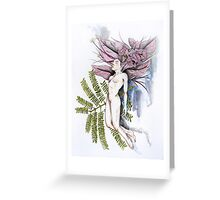 Floating in Nature Greeting Card