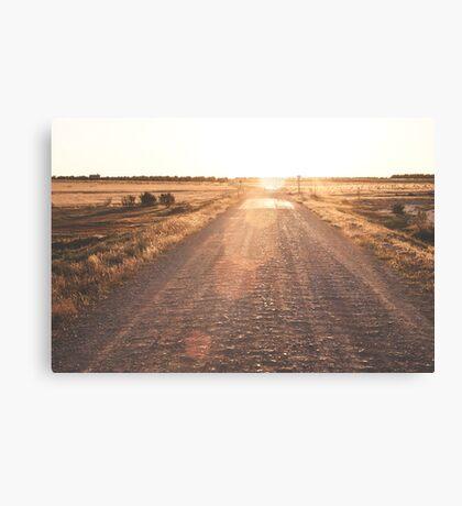 inviting path  Canvas Print
