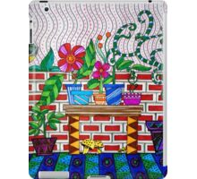 BRICKED-IN FIREPLACE iPad Case/Skin
