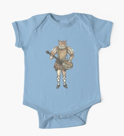 Banjo Cat One Piece - Short Sleeve