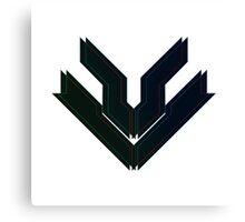 Blue Zebulon Logo Canvas Print