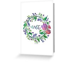 Lakeside New: Wild Greeting Card