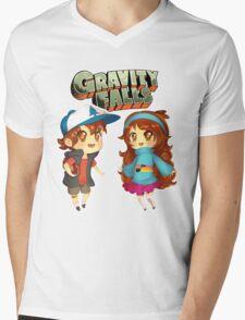 Gravity Falls Cuties Mens V-Neck T-Shirt