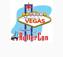 What happens in Vegas HAPPENED at RollerCon Unisex T-Shirt