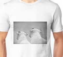 Bull Terrier Siblings Unisex T-Shirt