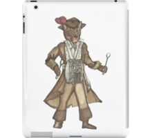 Red Feather Piarte Drummer Cat iPad Case/Skin