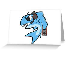 """Game"" Shark Greeting Card"