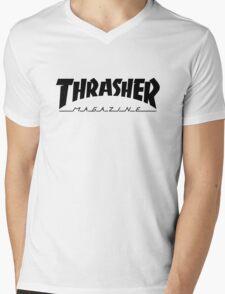 THRASHER MAGAZINE 2016 Mens V-Neck T-Shirt