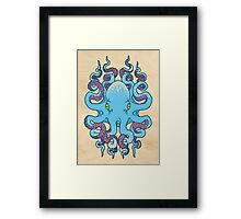 Twisted Tentacles Framed Print