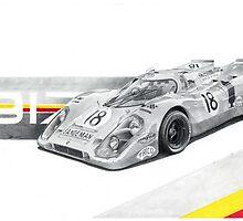 Porsche 917k Shell livery by Swenson750