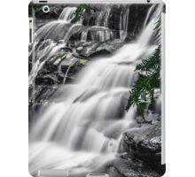 Leura cascades selective colour iPad Case/Skin