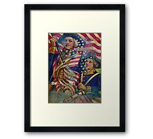 AMERICAN PATRIOT ~ UNAPOLOGETIC Framed Print