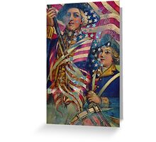 AMERICAN PATRIOT ~ UNAPOLOGETIC Greeting Card