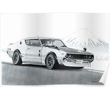 Kenmeri Skyline GT-R Poster