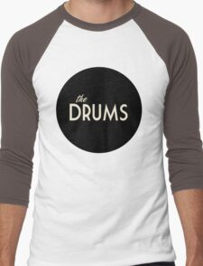 The Drums logo  Men's Baseball ¾ T-Shirt