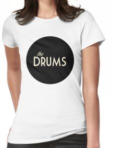 The Drums logo  Womens Fitted T-Shirt