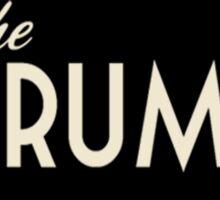 The Drums logo  Sticker