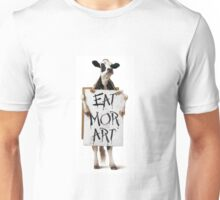 Eat More Art (Not Chikin) Unisex T-Shirt
