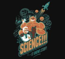 Science!!! It Knows Stuff! Baby Tee