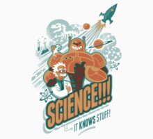 Science!!! It Knows Stuff! Kids Tee