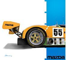 Mazda 787b Photographic Print