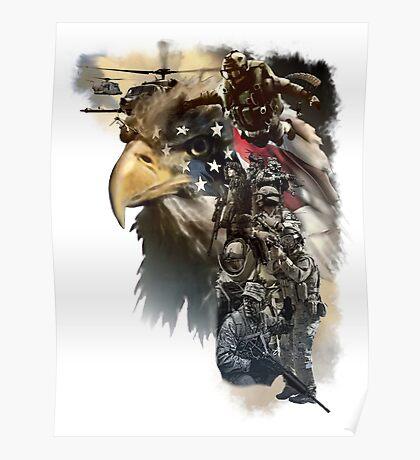 Air Force Combat Commandos Poster