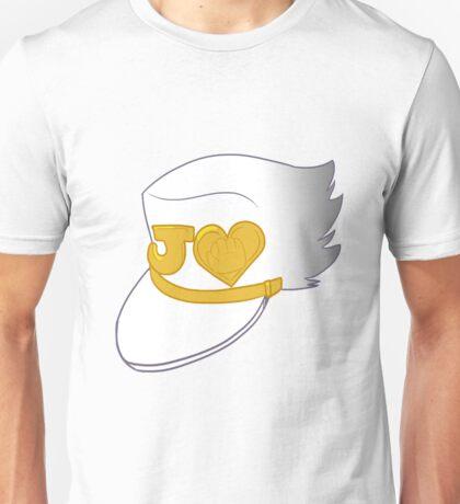 jotaro kujo's hat (diamond is unbreakable) Unisex T-Shirt
