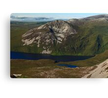 Aghla More From Errigal Canvas Print