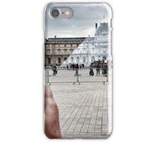 JR au Louvre iPhone Case/Skin