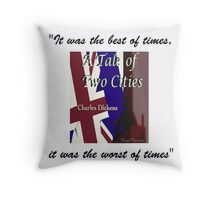 A Tale of Two Cities Throw Pillow