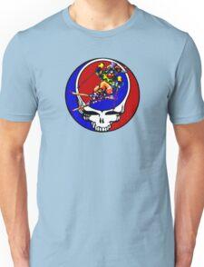 Grateful Dead Skiing Bear Unisex T-Shirt