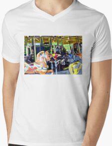 CHILDHOOD LIVING Mens V-Neck T-Shirt