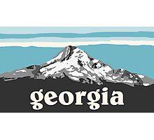 Blue Georgia Photographic Print