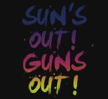 Suns' Out Guns Out by Ian Farewell