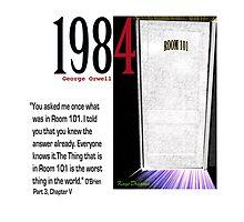 1984 OBrien explains Room 101 by KayeDreamsART