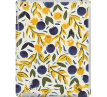 Dots Dots Leaves Leaves iPad Case/Skin