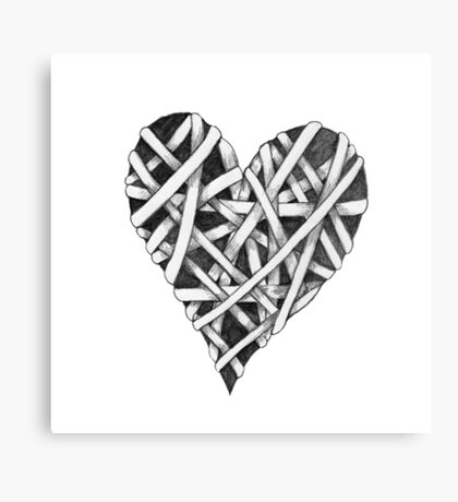 Mended Heart Canvas Print