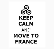 triskelion Isaac Lahey Keep Calm and Move to France Unisex T-Shirt