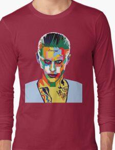 jared leto of joker Long Sleeve T-Shirt