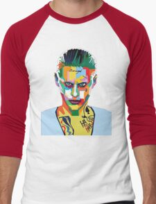 jared leto of joker Men's Baseball ¾ T-Shirt