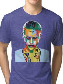 jared leto of joker Tri-blend T-Shirt