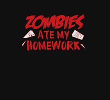 Zombies Ate My Homework Unisex T-Shirt