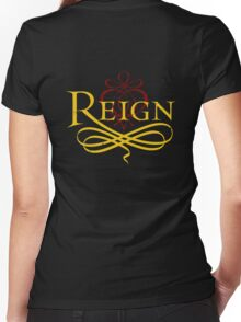 Reign Women's Fitted V-Neck T-Shirt