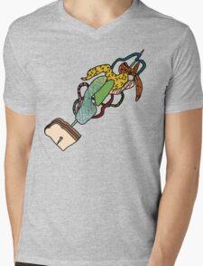 Where's My Green Olive Mens V-Neck T-Shirt