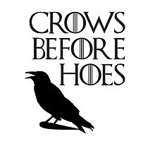 Crows before Hoes by Freckledkisses