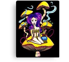 Hookah Girl Canvas Print