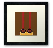 Psychonauts Raz Goggles Framed Print