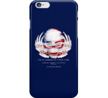 Skull and Wings America iPhone Case/Skin