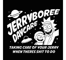 Rick and Morty Inspired Jerryboree Photographic Print